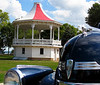 This Bandshell, located at Fond Du Lac's Lakeside Pak, was featured on the cover of a 1940's Saturday Evening Post.