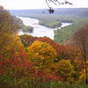 Wyalusing State Park which is at the confluence of the Wisconsin and Mississippi Rivers