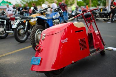 Two Wheel Tuesday Bike show @The Locker Room